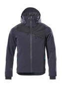 17001-411-01009 Giacca antivento - blu navy scuro/nero