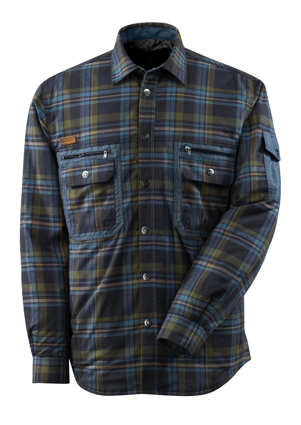 17004-991-01085 Camicia con fodera - blu navy scuro/blu mare
