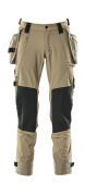17031-311-010 Pantaloni con tasche porta-ginocchiere e tasche esterne - blu navy scuro