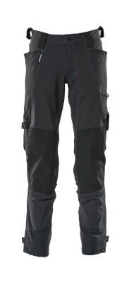 17079-311-010 Pantaloni con tasche porta-ginocchiere - blu navy scuro
