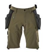 17149-311-33 Pantalone corto - verde muschio