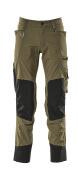 17179-311-010 Pantaloni con tasche porta-ginocchiere - blu navy scuro