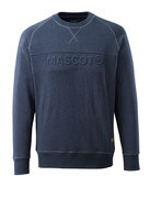 17184-830-66 Felpa - blu scuro denim lavato
