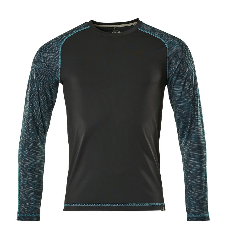 17281-944-09 Maglietta, a maniche lunghe - nero