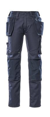 17731-442-010 Pantaloni con tasche porta-ginocchiere e tasche esterne - blu navy scuro
