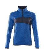 18053-316-010 Maglione in pile con mezza cerniera - blu navy scuro