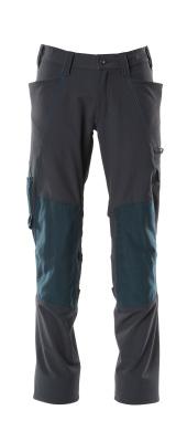 18079-511-010 Pantaloni con tasche porta-ginocchiere - blu navy scuro