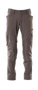18079-511-18 Pantaloni con tasche porta-ginocchiere - antracite scuro