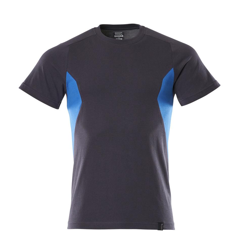 18082-250-01091 Maglietta - blu navy scuro/azzurro