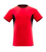 18082-250-20209 Maglietta - rosso/nero