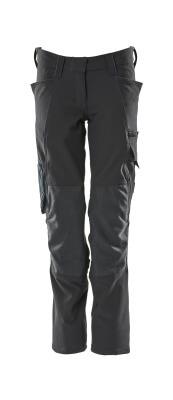 18088-511-010 Pantaloni con tasche porta-ginocchiere - blu navy scuro