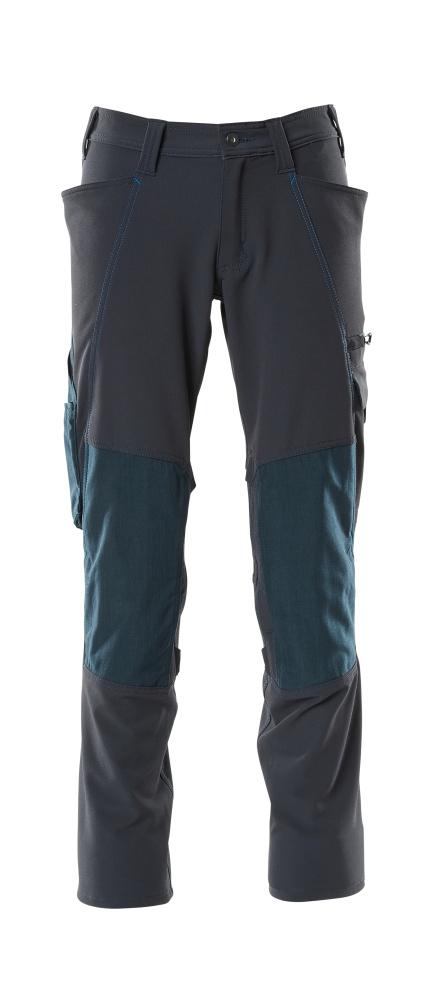 18179-511-010 Pantaloni con tasche porta-ginocchiere - blu navy scuro