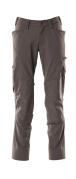 18179-511-18 Pantaloni con tasche porta-ginocchiere - antracite scuro