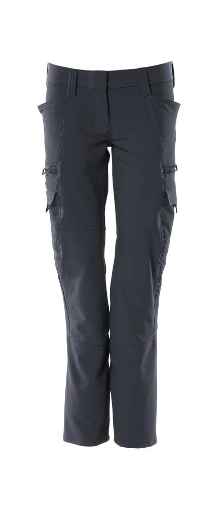 18188-511-010 Pantaloni con tasche sulle cosce - blu navy scuro