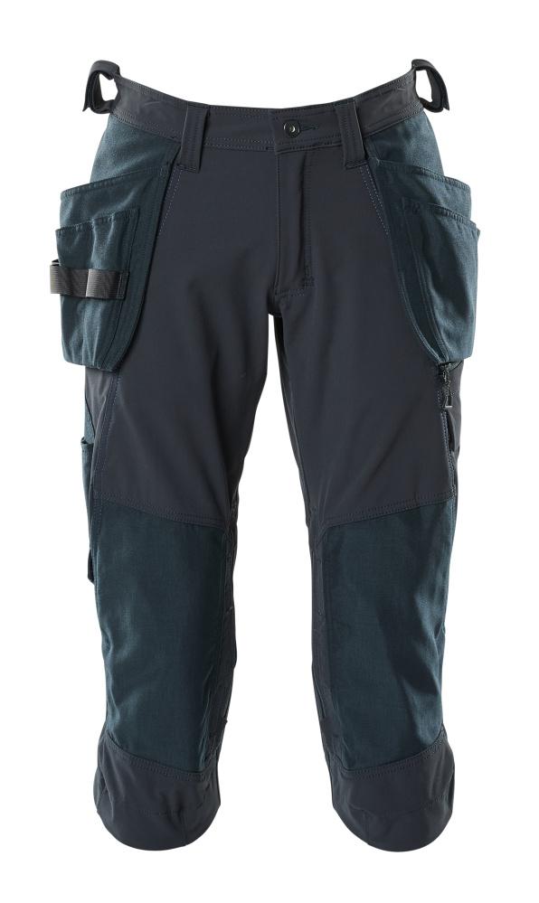 18249-311-010 ¾  Pantaloni con tasche esterne - blu navy scuro