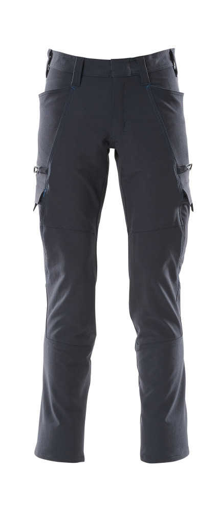 18279-511-010 Pantaloni con tasche sulle cosce - blu navy scuro