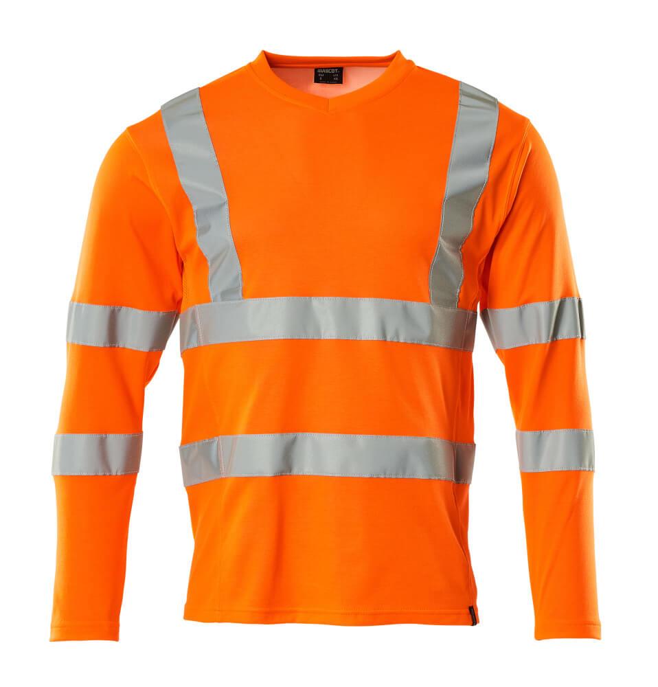 18281-995-14 Maglietta, a maniche lunghe - arancio hi-vis
