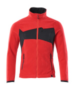 18303-137-20209 Giacca in Pile - rosso/nero