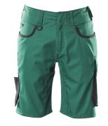 18349-230-0309 Pantalone corto - verde/nero