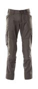 18379-230-18 Pantaloni con tasche porta-ginocchiere - antracite scuro