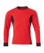 18384-962-20209 Felpa - rosso/nero