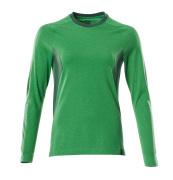 18391-959-33303 Maglietta, a maniche lunghe - verde prato/verde