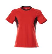 18392-959-20209 Maglietta - rosso/nero