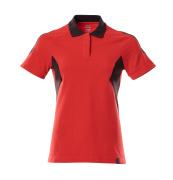 18393-961-20209 Polo - rosso/nero