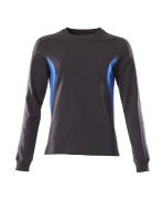 18394-962-01091 Felpa - blu navy scuro/azzurro