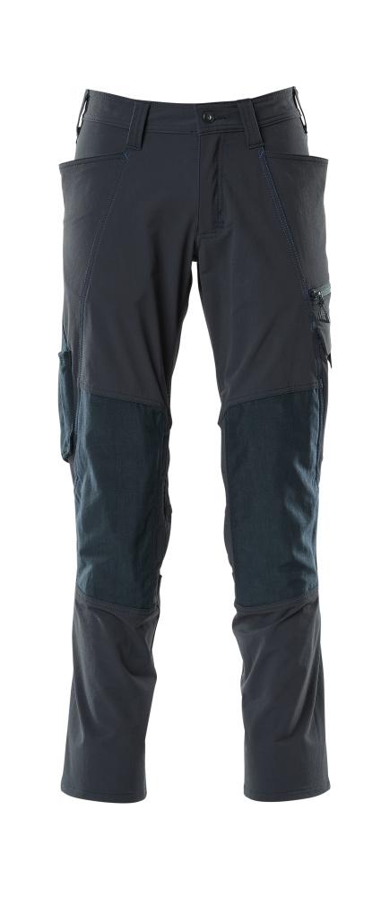 18479-311-010 Pantaloni con tasche porta-ginocchiere - blu navy scuro