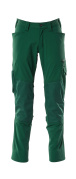 18479-311-03 Pantaloni con tasche porta-ginocchiere - verde
