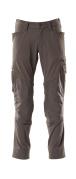 18479-311-18 Pantaloni con tasche porta-ginocchiere - antracite scuro
