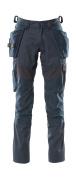18531-442-010 Pantaloni con tasche porta-ginocchiere e tasche esterne - blu navy scuro