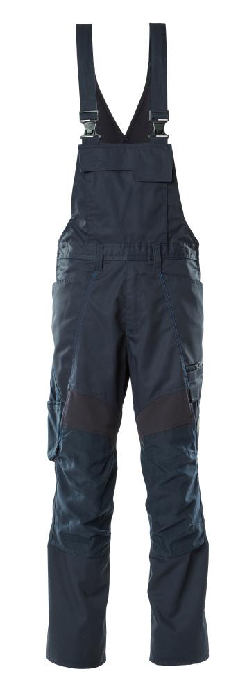 18569-442-010 Salopette con tasche porta-ginocchiere - blu navy scuro