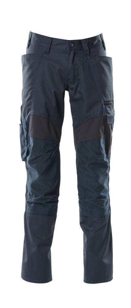 18579-442-010 Pantaloni con tasche porta-ginocchiere - blu navy scuro