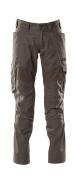 18579-442-18 Pantaloni con tasche porta-ginocchiere - antracite scuro
