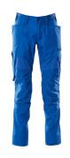 18579-442-91 Pantaloni con tasche porta-ginocchiere - azzurro