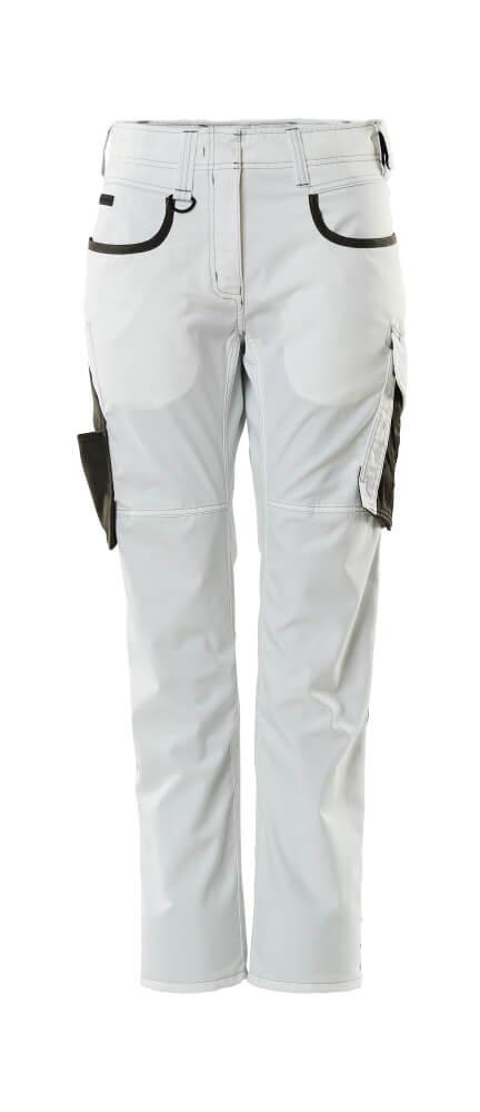 18678-230-0618 Pantaloni - bianco/antracite scuro