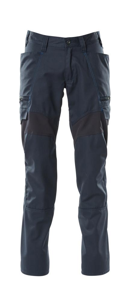 18679-442-010 Pantaloni con tasche sulle cosce - blu navy scuro