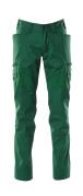 18679-442-03 Pantaloni con tasche sulle cosce - verde
