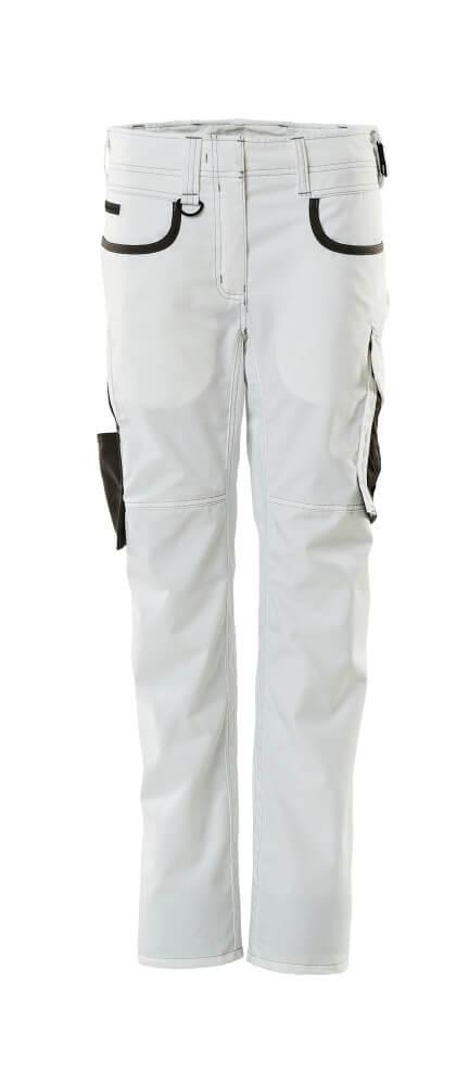 18688-230-0618 Pantaloni - bianco/antracite scuro