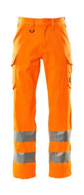 18879-860-14 Pantaloni con tasche sulle cosce - arancio hi-vis