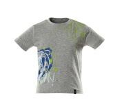 18982-965-08 T-shirt da bambino - grigio melange