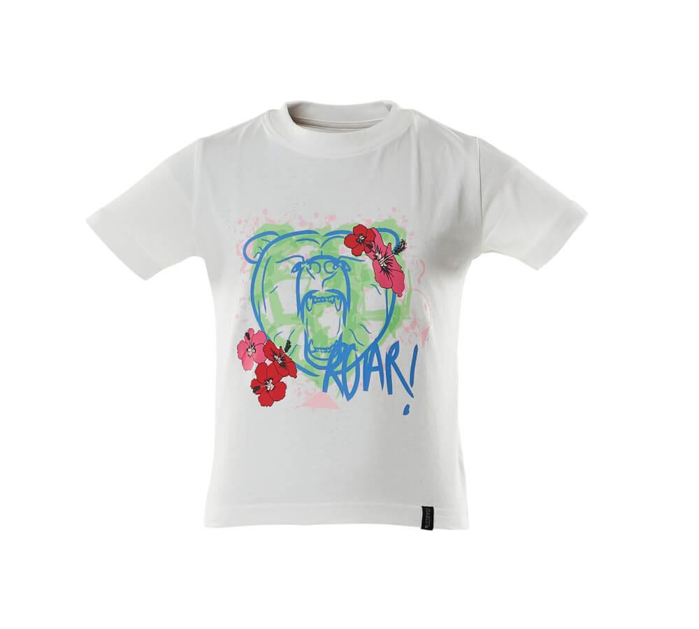 18992-965-06 T-shirt da bambino - bianco