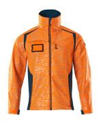 19202-291-1444 Giacca Softshell - arancio hi-vis/petrolio scuro