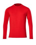 20181-959-202 Maglietta, a maniche lunghe - rosso