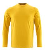 20181-959-70 Maglietta, a maniche lunghe - Giallo Curry