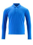 20483-961-91 Polo, a maniche lunghe - azzurro