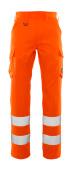 20859-236-14 Pantaloni con tasche sulle cosce - arancio hi-vis