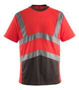 50118-949-A49 Maglietta - rosso hi-vis/antracite scuro